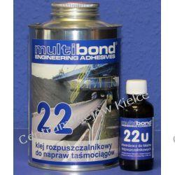 Klej do taśmociągów  MULTIBOND 22 komplet z utwardzaczem 800 g +40 g  Nieskategoryzowane