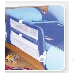 Barierka ochronna do łóżka niebieska DELTIM BY LINDAM