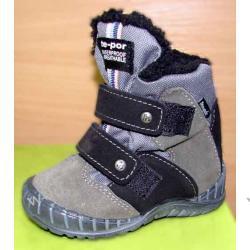 Buty zimowe Mrugała tepor szare