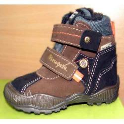 Buty zimowe Mrugała tepor brąz