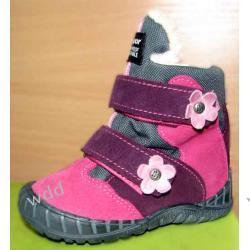 Buty zimowe Mrugała tepor róż