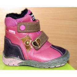 Buty zimowe Mrugała tepor 7181 róż