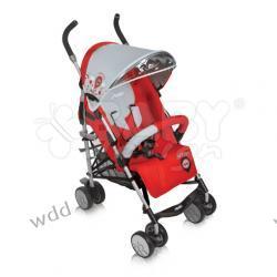 Wózek spacerowy Baby Design Travel 02 czerwony kolekcja 2011