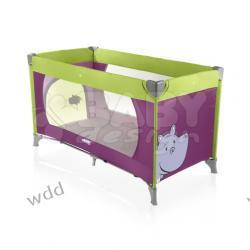 Łóżeczko turystyczne Baby Design Simple 08 hipopotam