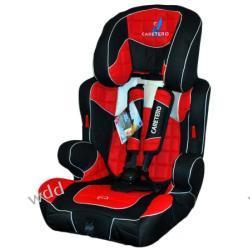 Fotelik samochodowy Caretero Spider 9-36kg czerwony