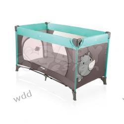Łóżeczko turystyczne Baby Design Simple 07 nosorożec