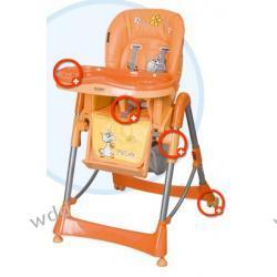 Krzesełko Coneco Fabula pomarańczowe 05