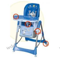 Krzesełko Coneco Fabula niebieskie 03