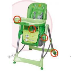 Krzesełko Coneco Fabula zielone 04
