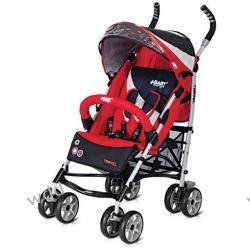 Wózek spacerowy Baby Design Travel czerwony