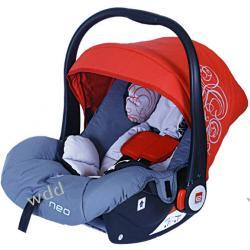Fotelik samochodowy Baby Design Espiro Neo czerwony