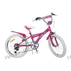 """Rower dziecinny 20"""" ACCENT DAISY, rama stalowa, 6-biegowy."""