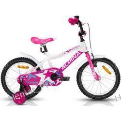 """Rower Junior ALPINA STARTER 16"""" Pink"""