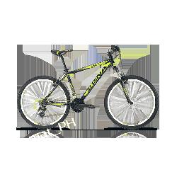 Rower Mtb Kellys Alpina ECO M20 Black lime 2017. WYPRZEDAż !