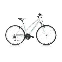 Rower Crossowy Alpina ECO LC10 white-turquise 2018.  Sport i Turystyka
