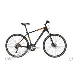 Rower crossowy Kellys Phanatic 50 black orange 2019 Trekkingowe