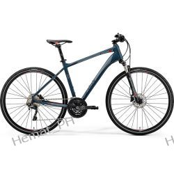 Rower crossowy Merida Crossway 600 matt dark grey 2019r Trekkingowe