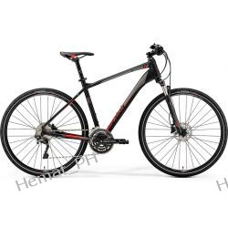 Rower crossowy Merida Crossway 500 matt black 2019r Trekkingowe