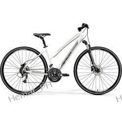 Rower crossowy Merida Crossway 40 D Silk Pearl White 2019r Sport i Turystyka