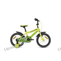 """Rower Dziecięcy Kellys Wasper Yellow 16"""" 2019r. Sport i Turystyka"""