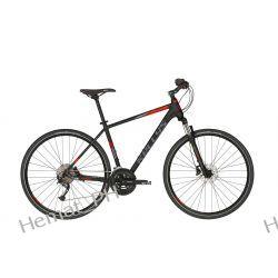 Rower Crossowy Kellys Phanatic 30 Black 2019r.  Sport i Turystyka
