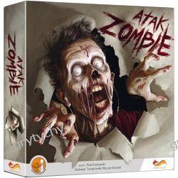 Atak Zombie GRA PLANSZOWA Horror strateg GRY TYCHY Gry