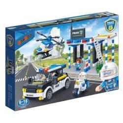 BanBao, Policja, klocki Posterunek drogowy, 7002