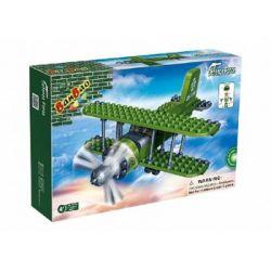 BanBao, Armia, klocki Samolot dwupłatowy, 8827
