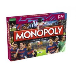 Gra strategiczna Monopoly FC Barcelona  GRY TYCHY