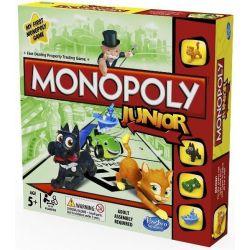 Gra ekonomicza rodzinna  MONOPOLY JUNIOR 5+ TYCHY Gry