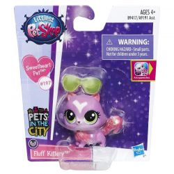 Littlest Pet Shop FLUFF KITTERY #197 Kot LPS TYCHY Lalki z bajek