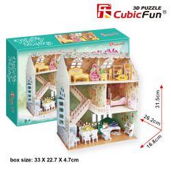 Puzzle piankowe 3D DOMEK dla lalek meble TYCHY Tornistry i plecaki