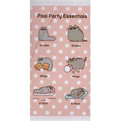 Pusheen kot RĘCZNIK bawełniany 70x140cm kotek Dla Dzieci