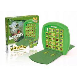 Gra logiczna Dinozaury kółko i krzyżyk MATCH Gry