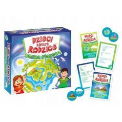 Gra rodzinna Dzieci kontra rodzice Nasza planeta Dla Dzieci