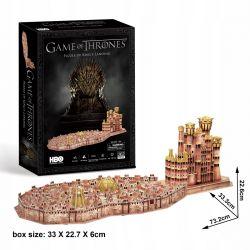 Puzzle 3D CubicFun KRÓLEWSKA PRZYSTAŃ Gra o Tron Dla Dzieci