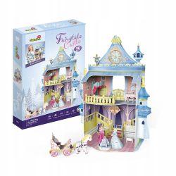 Puzzle 3D CubicFun Domek Pałac dla lalek 81el Dla Dzieci