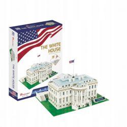 Puzzle 3D CubicFun BIAŁY DOM White House 64el Dla Dzieci