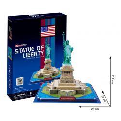 Puzzle 3D CubicFun STATUA WOLNOŚCI 39el Dla Dzieci