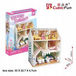 Puzzle 3D CubicFun Domek dla lalek Dollhause 160el Pozostałe