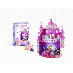 Puzzle 3D CubicFun PAŁAC dla lalek Princess 92el Pozostałe