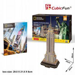 Puzzle 3D CubicFun EMPIRE STATE BUILDING 66el Pozostałe