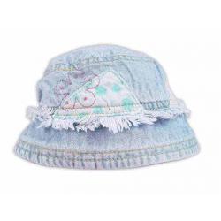 Jeansowy kapelusz Qute