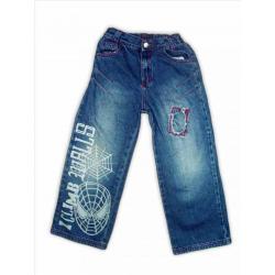 Jeansowe spodnie Spider-Man