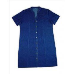Jeansowa sukienka XXXL