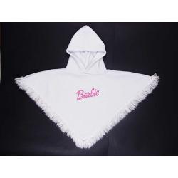 Polarowe poncho Barbie