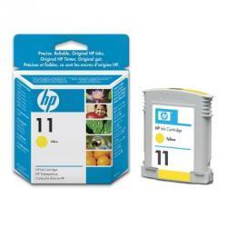 Żółty wkład atramentowy HP 11 (C4838AE)