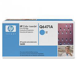 Kaseta z błękitnym tonerem HP Color LaserJet Q6471A (Q6471A)