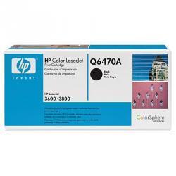 Kaseta z czarnym tonerem HP Color LaserJet Q6470A (Q6470A)