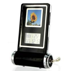 Ramka cyfrowa 1.4'' z zegarem, termometrem, kalendarzem, alarmem